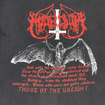 NEW /& OFFICIAL! Marduk /'Those Of The Unlight/' T-Shirt
