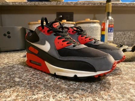Nike Air Max 90 Classic Black Infrared