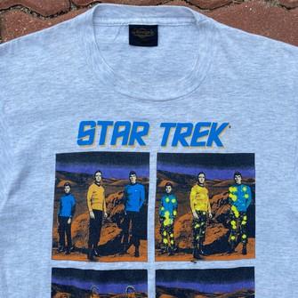 Vintage 1991 Star Trek Paramount Pictures Three to Beam Up Mr Scott Graphic Shirt USA size XL