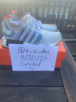 NMD_R1 Stencil Pack - Bold Blue Size 6