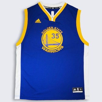 Adidas Golden State Warriors Kevin Durant Adidas Basketball Jersey