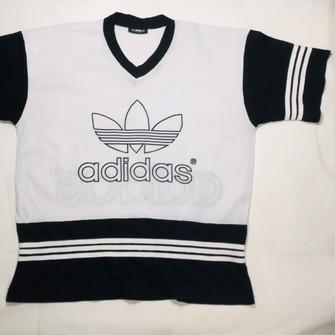 Adidas ADIDAS TREFOIL Jersey Large Vintage 90's Adidas Big Logo