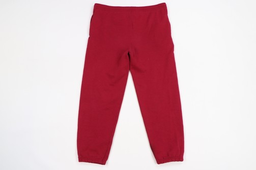 Vintage Blank Joggers Vintage Mens Pants 90s Streetwear Blank Faded Distressed Sweatpants Joggers Red Mens XL USA 1990s Faded Sweatpants