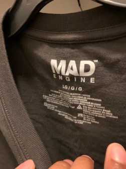 Mad Engine Mens Shadow on the Moon Shirt New L