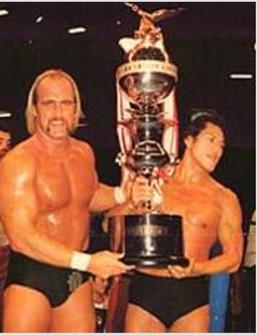 Vintage Vintage Killer Inoki Hulk Hogan Sweatshirt