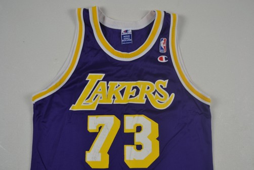 Champion VTG Dennis Rodman Champion Jersey NBA Los Angeles Lakers Basketball vintage lakeshow la 80s 90s streetwear fashion hip hop