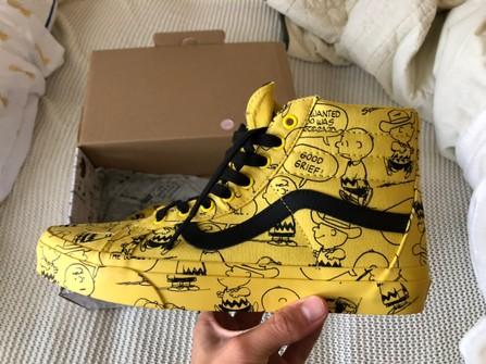 Vans Vans x Peanuts Sk8 Hi Charlie Brown Maize Yellow