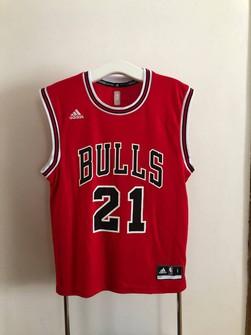 Adidas #21 Jimmy Butler NBA Chicago Bulls Adidas Jersey