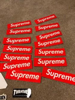 Supreme Sade Sticker Decal Bogo