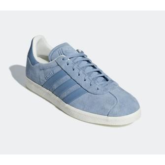 Adidas NEW NWT Adidas Gazelle Stitch & Turn Baby Blue Suede