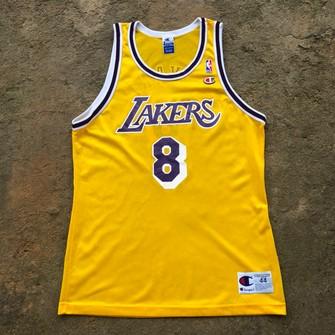 Vintage Vintage Kobe Bryant La Lakers Champion NBA Jersey