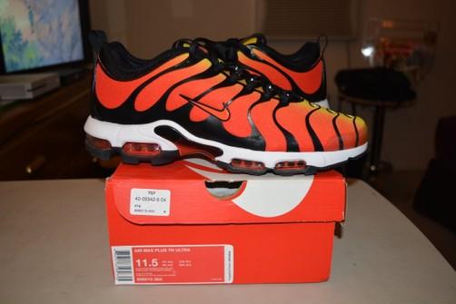 Nike Nike Air Max Plus TN Ultra Orange Tiger Size 11.5