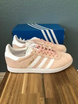 Adidas Gazelle Vapor Pink - Men Size 10.5