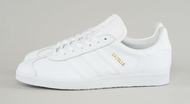 Adidas Adidas Gazelle - All White Leather