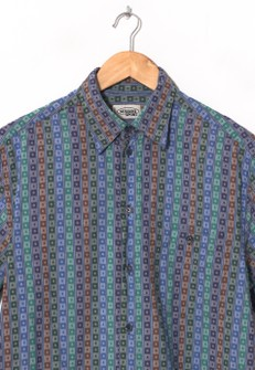 Vintage 90s Missoni button down shirt multi color size 50