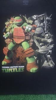 vintage teenage mutant ninja turtles movie  cartoon 90s era shirt