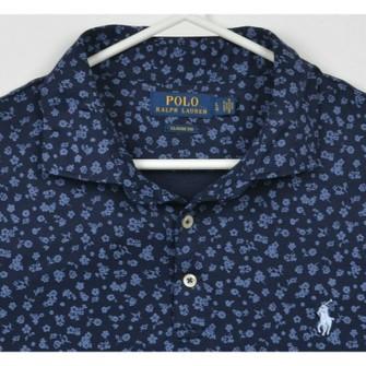Polo Ralph Lauren Polo Ralph Lauren Men's Large Floral Navy Blue Polo Shirt