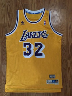 Adidas Los Angeles Lakers Magic Johnson Adidas Swingman Jersey