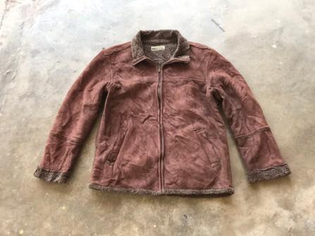 Suede In-Between Seasons Vintage Jacket