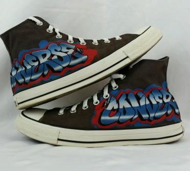 Converse Graffiti/Tagged Converse