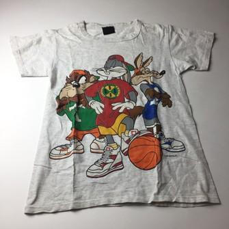 Vintage Looney Tunes Cross Colors Bugs Bunny Basketball Tshirt