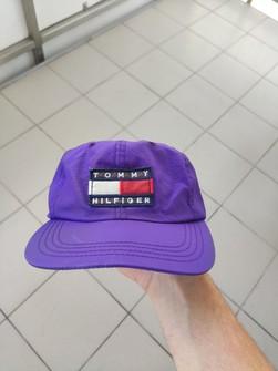 Vtg Tommy Jeans Denim Cap Headwear 90/'s