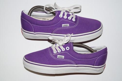 Vintage Vintage 90s Vans Authentic Made In USA Purple