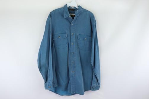 Vintage 1990s Eddie Bower Shirt size Medium