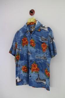 Vintage Hawaiian Shirt Size Large made in Hawaii Kalaheo