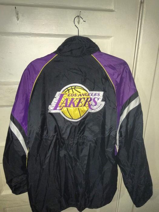 Vintage Los Angeles Lakers Reversible Jacket G Iii Carl Banks Xl Grailed