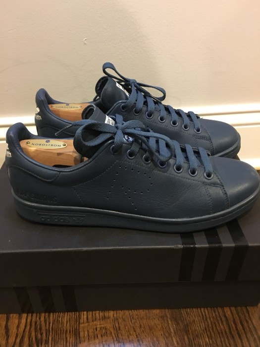 explotar Abultar cobertura  Adidas Raf Simons Stan Smith Midnight Blue/navy/blue/idk What Color It Is |  Grailed