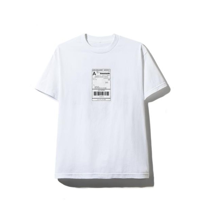 """Anti Social Social Club Anti Social Social Club """" Thank God """" TEE (White) ***IN HAND*** Size US S / EU 44-46 / 1"""