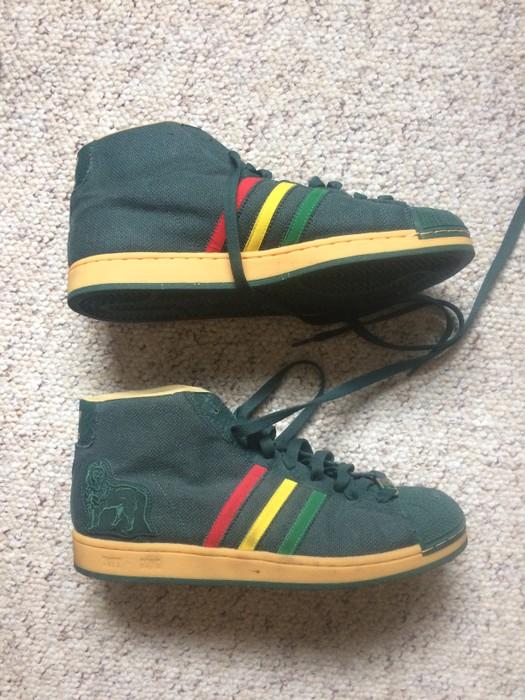 vendedor Granjero brillante  Adidas Tuff Gong Bob Marley Brand 2007 Limited Edition   Grailed
