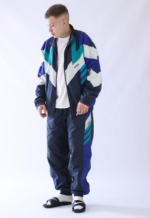 Tranvía techo excusa  Adidas Vintage Mens Adidas Originals Tracksuit Jacket Pants | Grailed