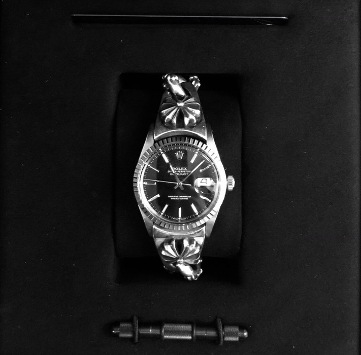 Rolex Chrome Hearts Rolex (with receipts) Size 36