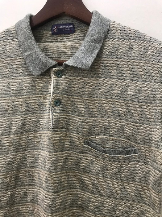 Vintage Need Gone Today Austin Reed Knitwear Triangle Art Shirt Grailed