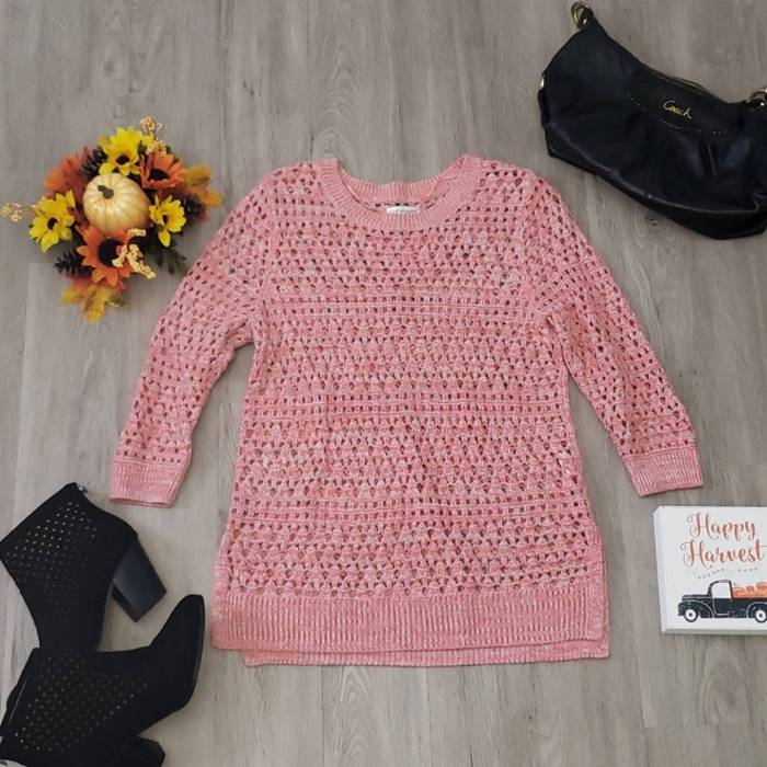 Vintage 1990s Sweater Pink Sweater Croft /& Barrow