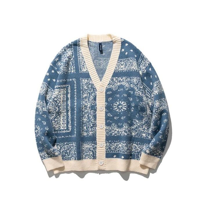 Vintage patterned cardigan