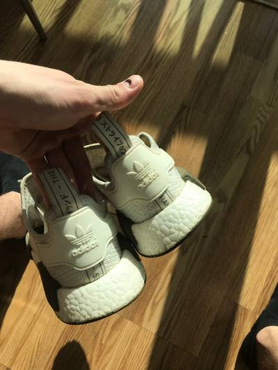 Champs Sports x NMD_R1 Chalk and Olive