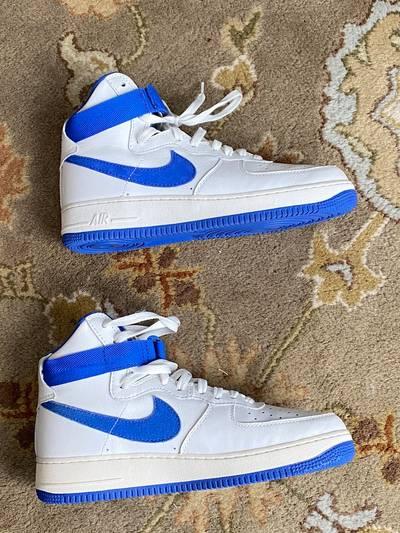 Air Force 1 High OG White Royal Blue