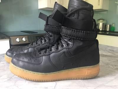 Men S Sf Air Force 1 High Black Gum From Nike Grailed
