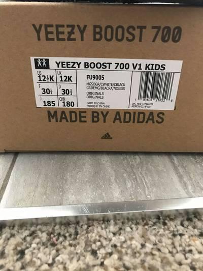 Yeezy Boost 700 Kids 'Wave Runner'