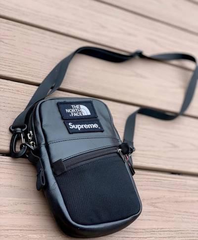 Men S Leather Shoulder Bag From Supreme
