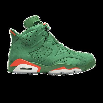 Air Jordan 6 Retro NRG Green Suede Gatorade Like Mike