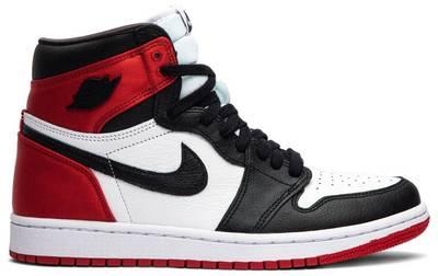 Air Jordan1 Retro Satin Black Toe