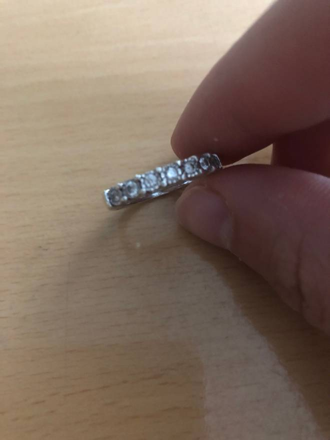 Ben Baller 14carat Diamond Band Ring Size one size Jewelry