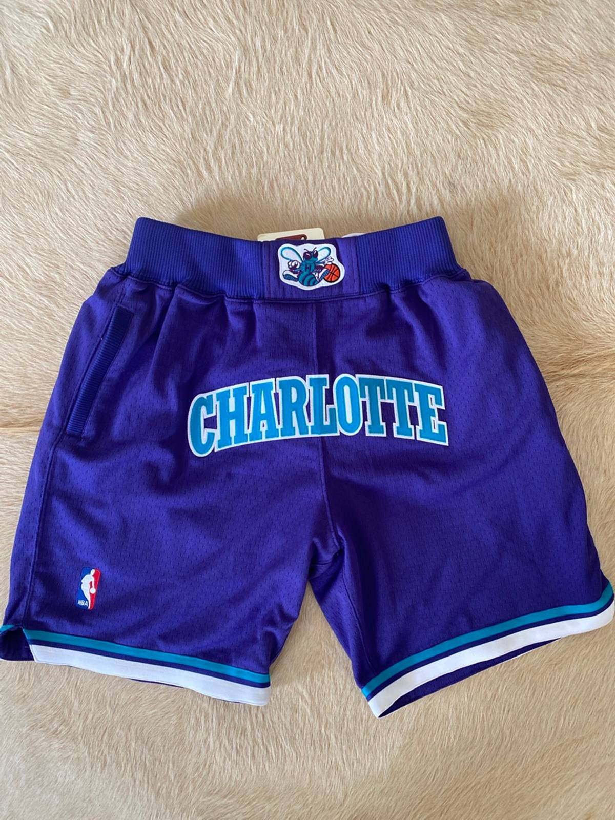 Just Don Just Don Charlotte Hornets Nba Shorts Just Don Mitchell Ness Grailed