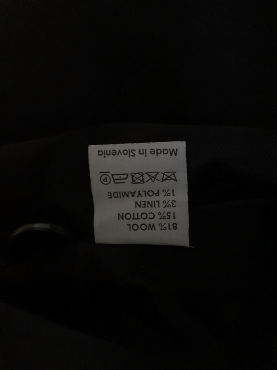 Dries Van Noten Runway FW08 NO OIM BLACK coat Size US XL / EU 56 / 4 - 7