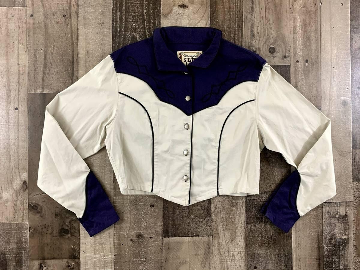 Vintage western crop jacket