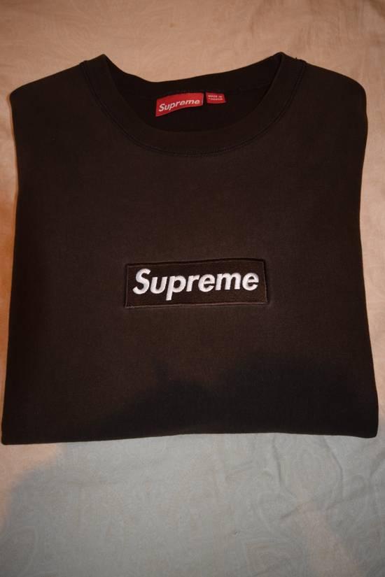 Supreme Supreme Brown Box Logo Crewneck 2005 Size US XL / EU 56 / 4